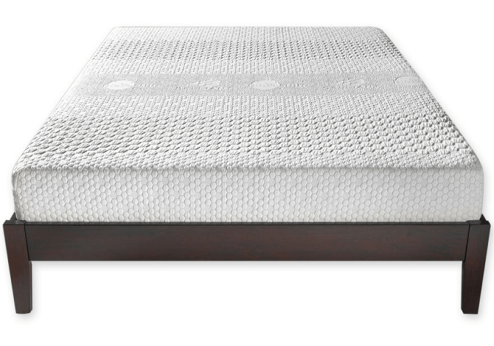 The BioPosture Mattress on a beautiful wood platform