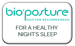 We recommend BioPosture Mattresses and Pillows